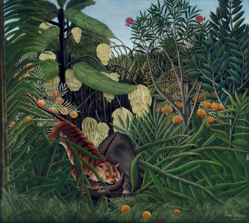 Un animal printre naturi - O imagine despre animal și natură (12×12)