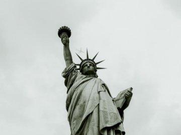 En 2014, j'ai fait un voyage à New - Statue de la Liberté. Charlotte, Caroline du Nord