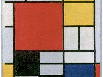 Mondrian - Tableau de Piet Mondrian
