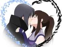 Itachi apaixonado - Que casal maravilhoso e muito apaixonado!