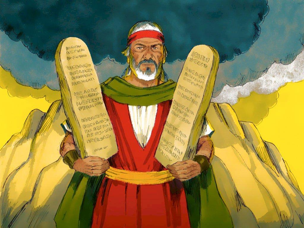 PROHLÁŠENÍ O PŘÍKAZECH Desátého Boha - VÁŠ DEKLOG Z PŘÍKAZŮ PRO TEN BOŽÍ (8×8)