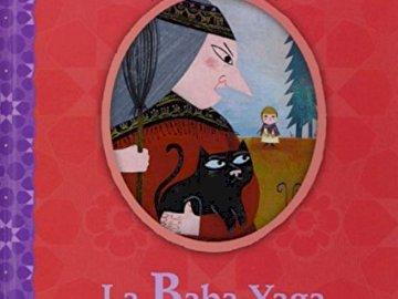 """Baba-Jaga - Ułóż elementy układanki z powrotem na miejscu, aby złożyć okładkę książki """"Baba-Jaga"""""""