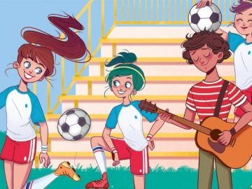 Bohaterowie - Edelweiss jest pasjonatem piłki nożnej
