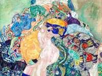 Αφηρημένη τέχνη με χρώματα