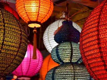 lampes thaïlandaises à chiang rai - lampes thaïlandaises à chiang rai