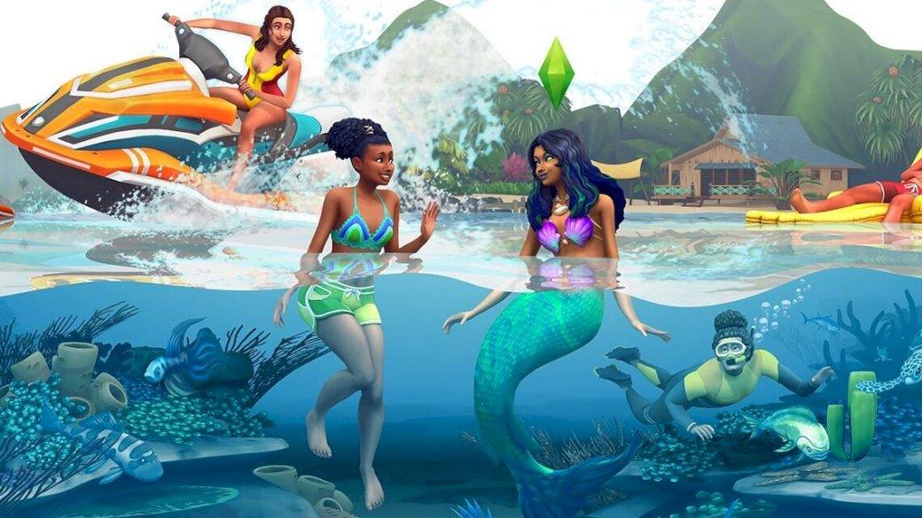 The Sims 4 Island Life - Puzzel uit de levenssimulator de sims 4 met toevoeging van het eilandleven (6×4)