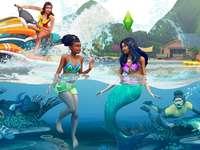 La vie sur l'île des Sims 4