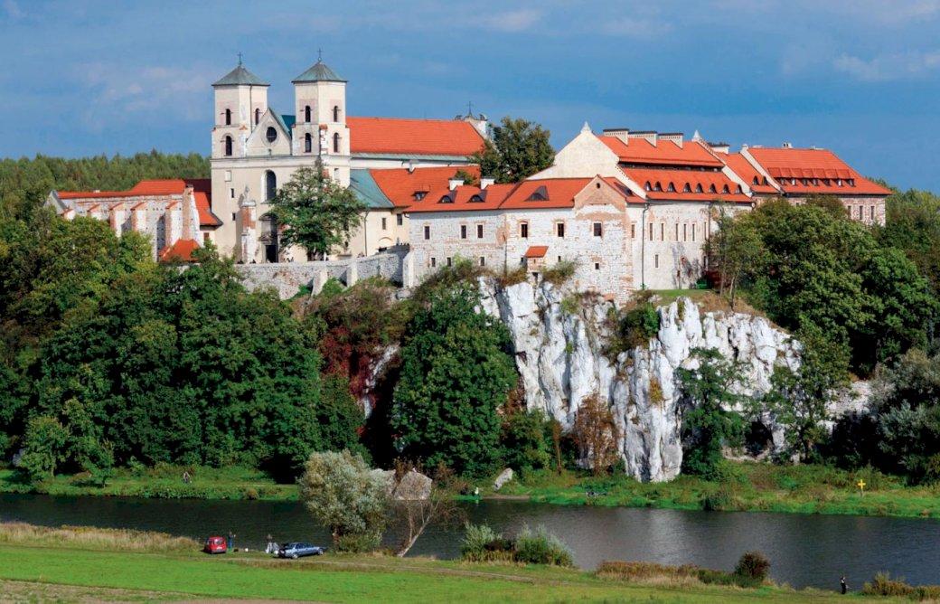 Monasterio medieval rompecabezas