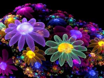 Weltraumblumen