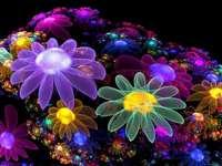 Fiori spaziali - Sono molto colorati e belli