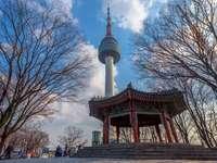 Torre de Namsan - La famosa torre de Seúl en Corea del Sur