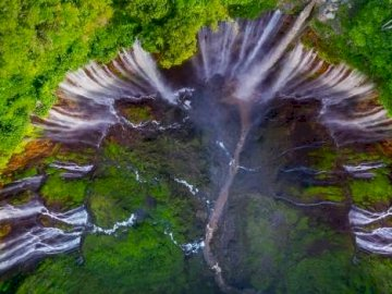 Indonesia - Java mille cascate in un unico posto