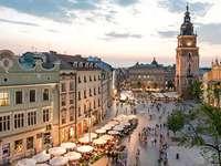 Старият град в Краков - Старият град в Краков. Това е всичко.