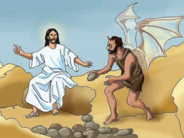 kuszenie Jezusa - Kuszenie Jezusa na pustyni