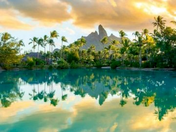 Extremely perfect afternoon in Bora Bora - oh oh oh oh oh oh oh oh oh
