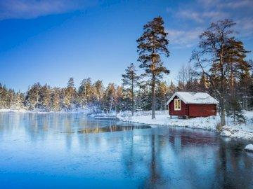 Szwecja.. - domek do wynajęcia nad jeziorem