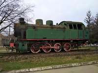 паф-паф - Локомотив от гара Краков Płaszów