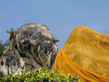 Ayutthaya en Thaïlande - Bouddha à Ayuttaya en Thaïlande