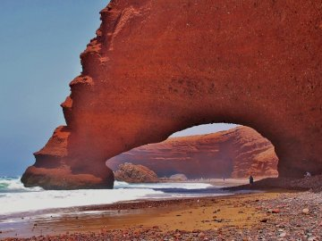 Morocco... - Lezgira miracle of nature by the sea