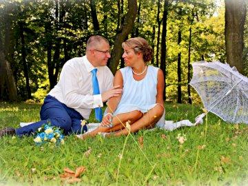 Asia y Tomasz - Foto de nuestra sesión de bodas