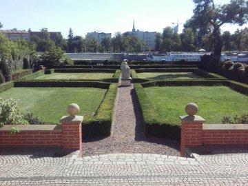 Jardin de Wroclaw - se promener dans les jardins de Wroclaw