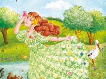 PUZZLE MRS SPRING - DAMES RESSORTS POUR ENFANTS