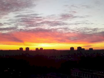 Sunrise - Sunrise in the city