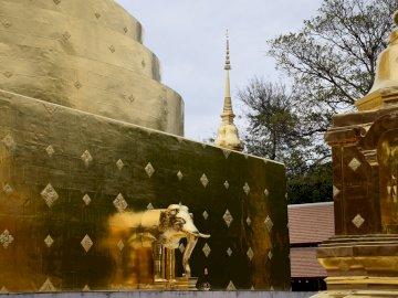 Temple bouddhiste à Chiang Mai - Temple bouddhiste à Chiang Mai