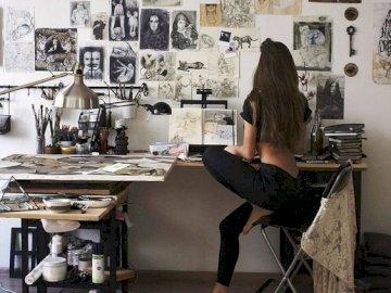 Arte e amore sono la stessa cosa - È il processo di vederti in cose che non sei tu.