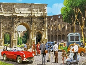 Roman holiday. - Roman holiday