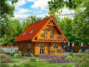 Maison en bois. - maison en bois