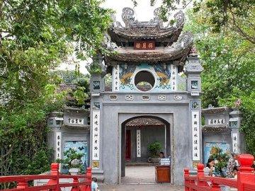 Tempio di giada - Tempio di giada, ponte rosso, Hanoi