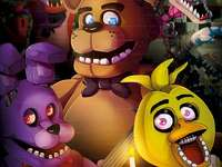 FNaF Plakacik ;-) - This time the poster if it was a copy I did not know