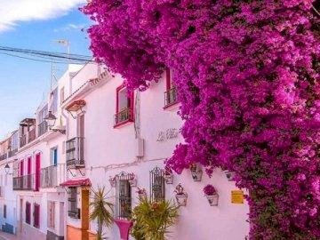 Spain. Marbella. - Landscape puzzle.