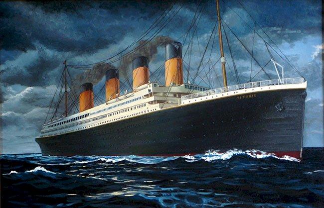 Titanic - velký kolos - Úžasná loď. Celý svět se dozvěděl o havárii této lodi (4×4)