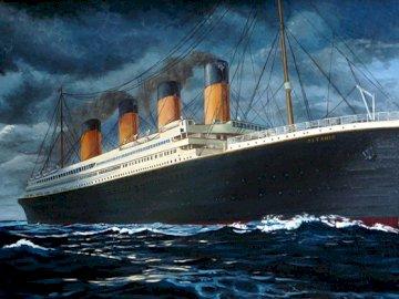 Titanic: un gran coloso. - Un maravilloso barco. Todo el mundo se enteró del accidente de esta nave.