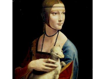 Dame mit einem Hermelin - Bild von Leonardo da Vinci, Maler der Renaissance