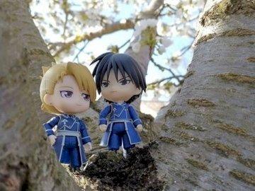 Roy et sa chérie - Ils sont mignons ces amoureux dans le cerisier