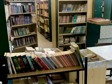 Books - A magical place at school, where everyone will find something for themselves