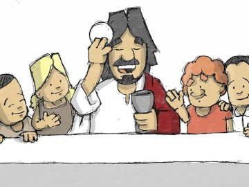 последна вечеря - Тайната вечеря на Исус
