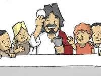 poslední večeře - Poslední večeře Ježíše