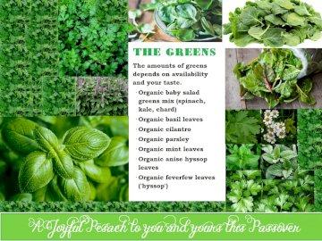 Radosna Pascha ~ Przepis Zielonych - Pesach, Pascha, warzywa, pietruszka, bazylia, hyzop, przepis