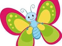 Kreslení motýl