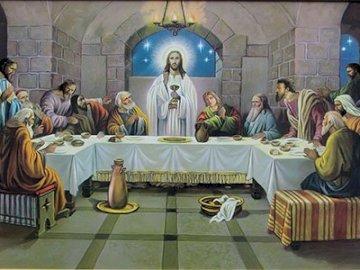Ultima cină - Cina trecută, Săptămâna Sfântă, Joia Sfântă