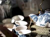 Chá antigo chinês quente