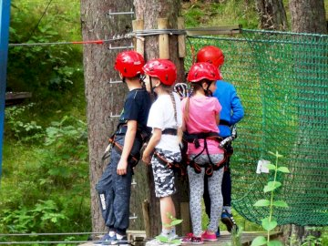 KKSW obóz 17 - Pogorzelica 2017 Park Linowy
