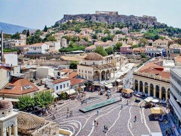 Bellissima città greca - Una delle bellissime città della Grecia