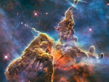 galassia - una delle galassie - foto dal telescopio