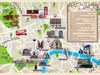 "Carte de Londres Harry Potter - Carte destinée à un escape game ""Harry Potter"""