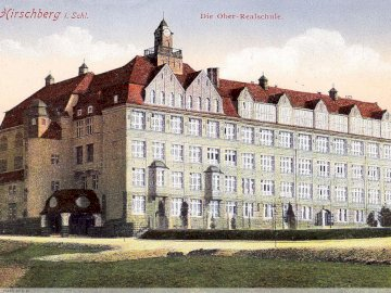 Long long time ago ... - School building from 1913